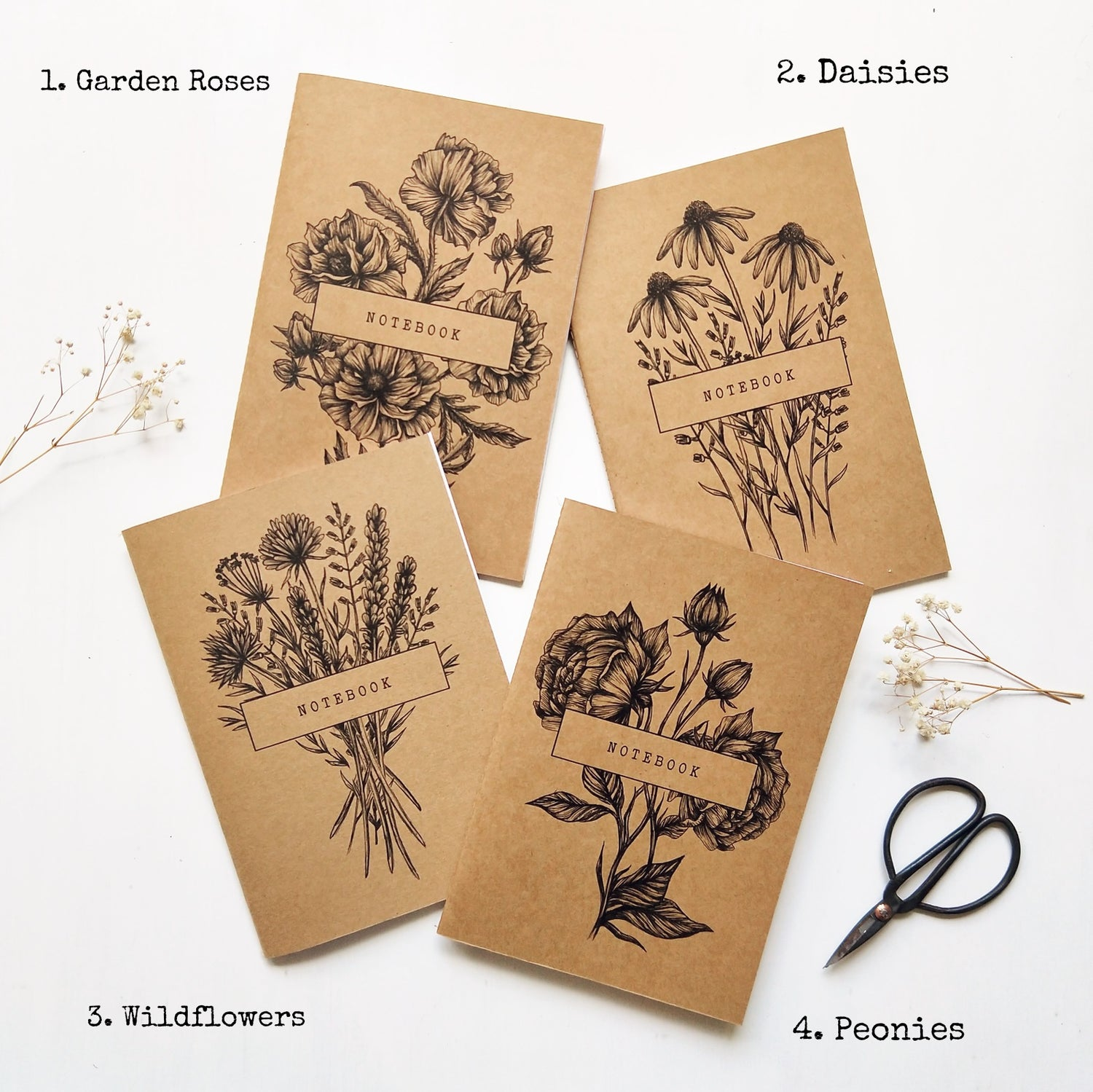 Image of NOTEBOOK - Wildflower Collection