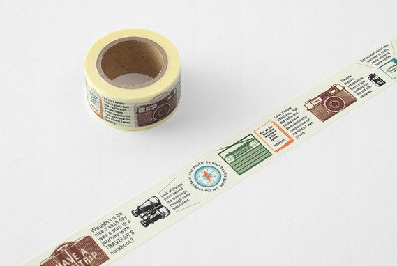 Image of TRAVELER's Company Limited Edition Travel Tools Washi Tape