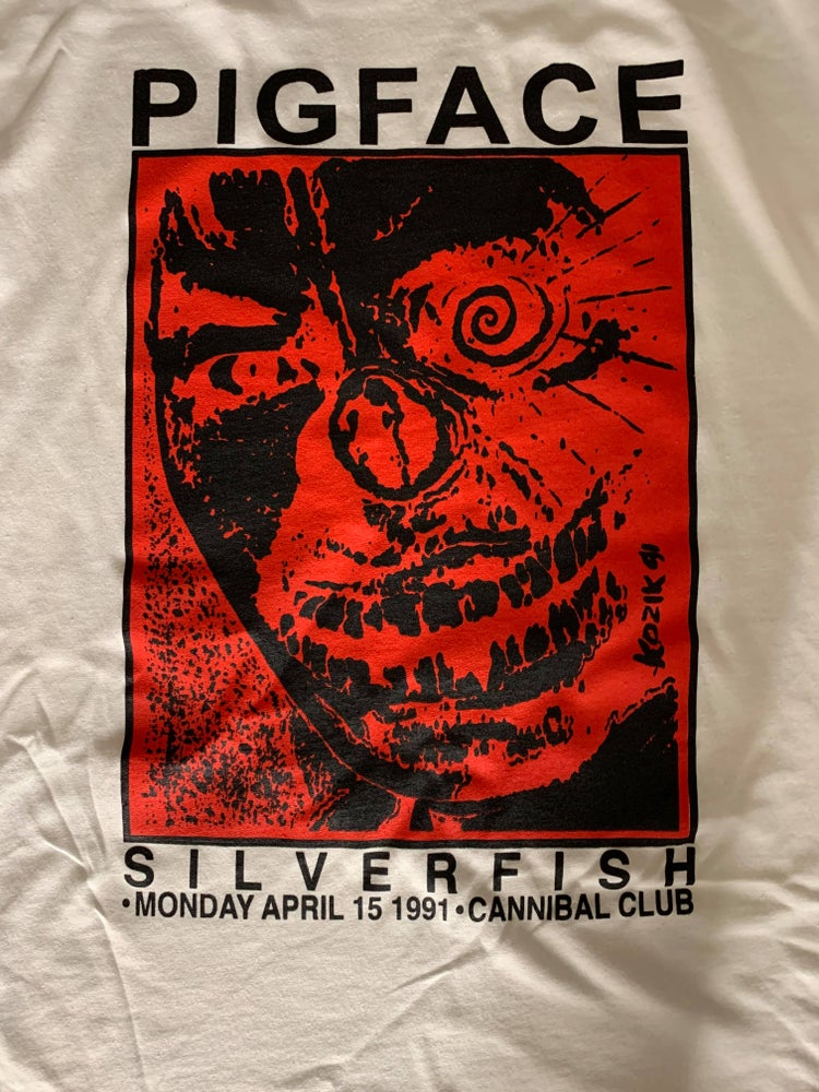 Image of Red and Black Kozik T-shirt