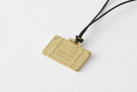 Image of TRAVELER'S Company Limited Edition Travel Tools Brass Charm