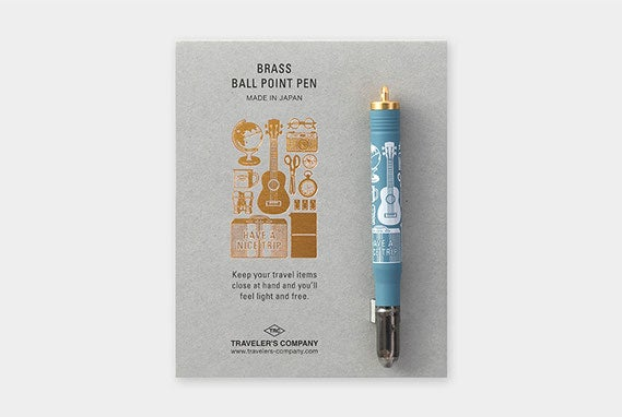 Image of TRAVELER'S Company Limited Edition Travel Tools Brass Pen