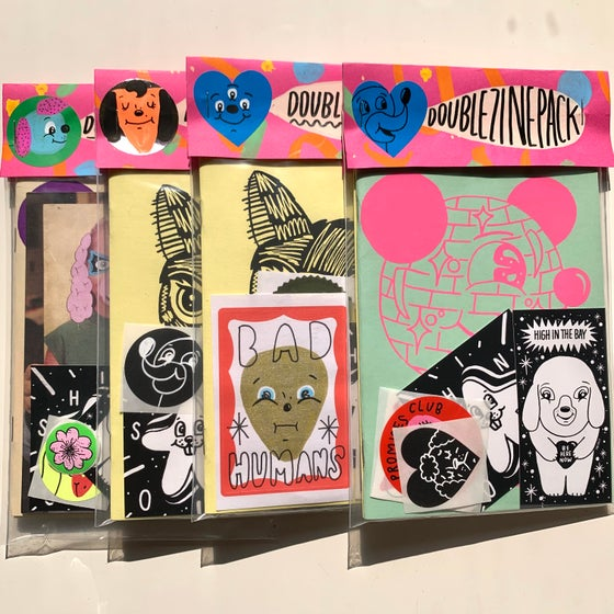 Image of double zine pack