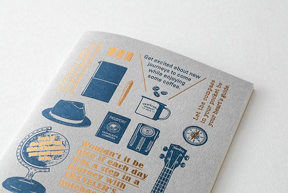 Image of TRAVELER'S Company Limited Edition Travel Tools Notebooks