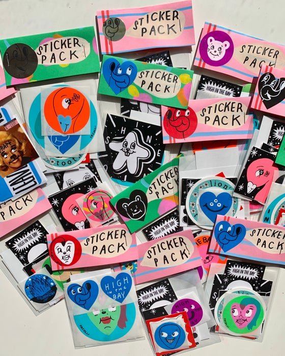 Image of *New* Sticker Pack
