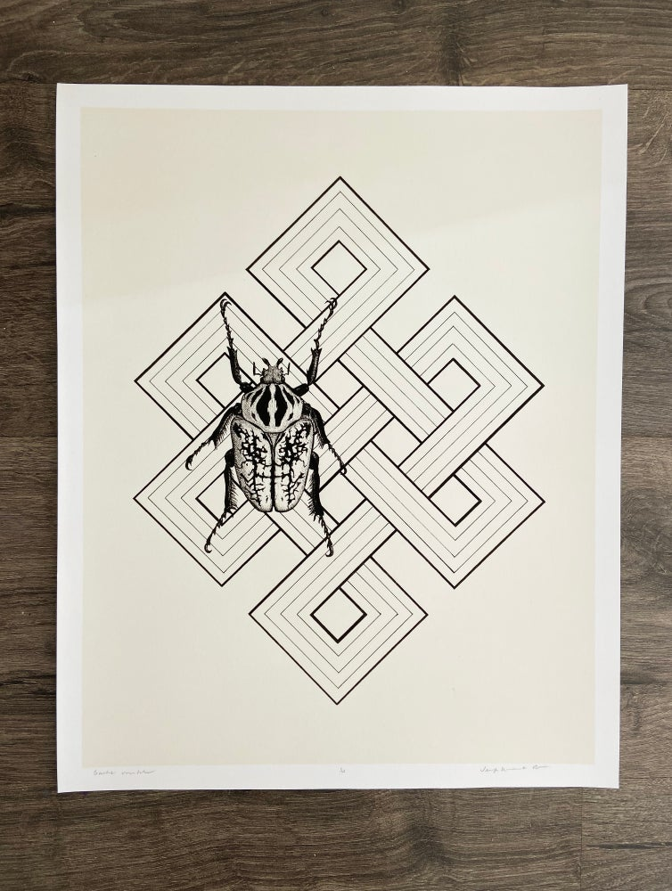 "Image of ""Goliath orientalus""  Giclee Print"