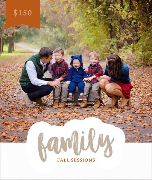 Image of Fall Family Mini Sessions // November 17