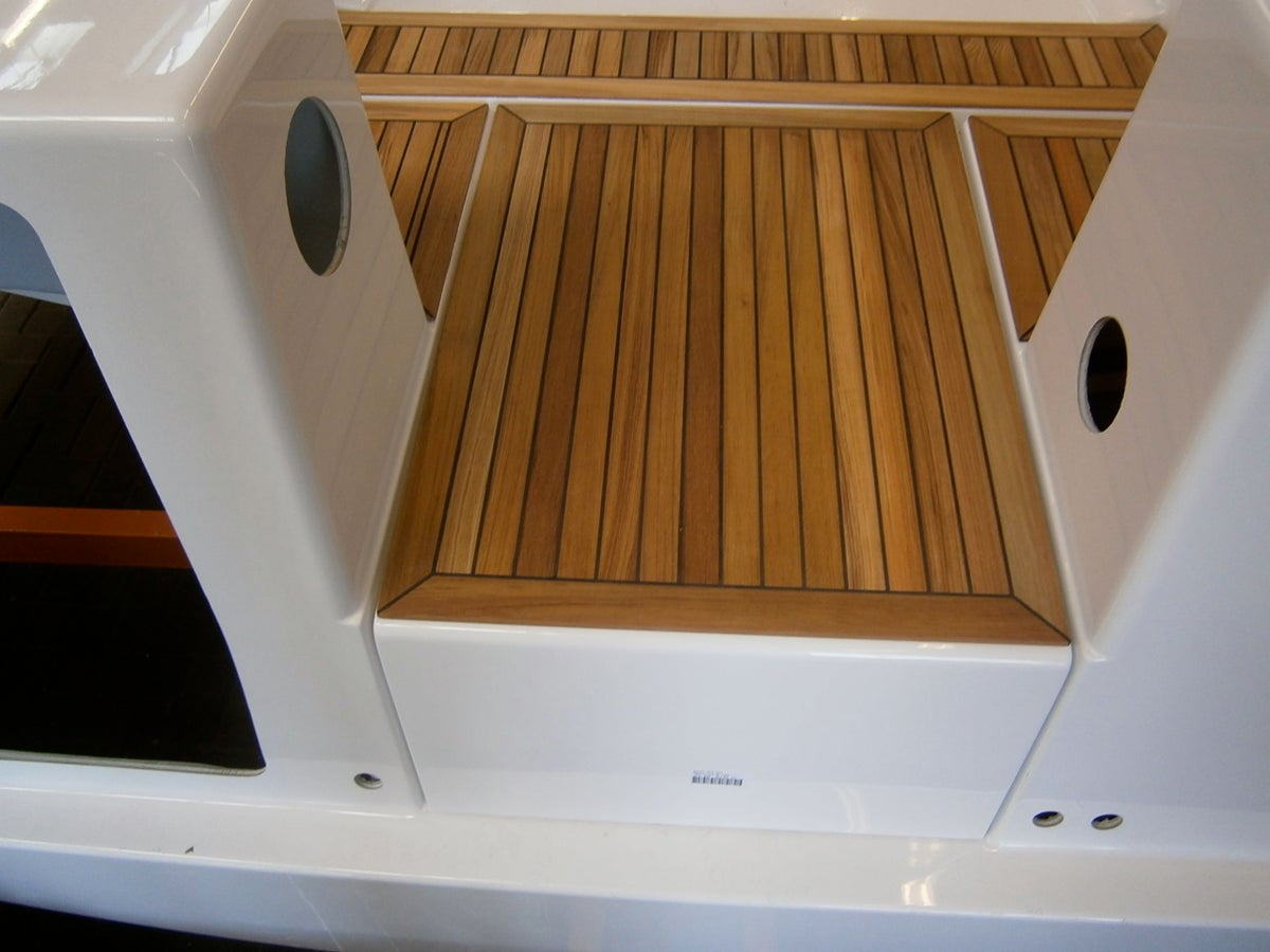 Image of Teak decking panel