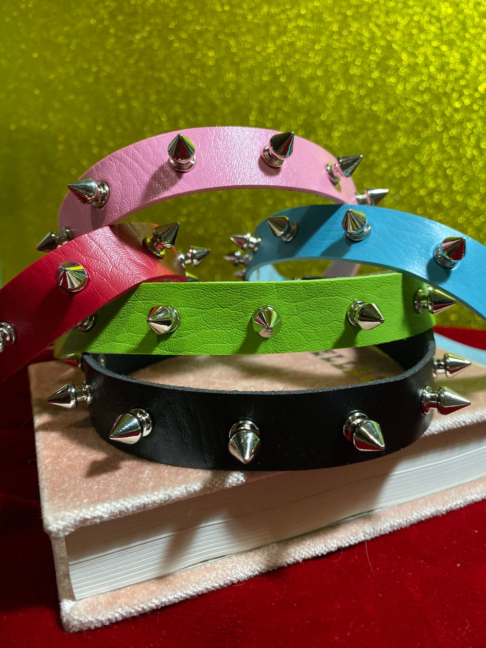 Spiked Choker (5 colors)