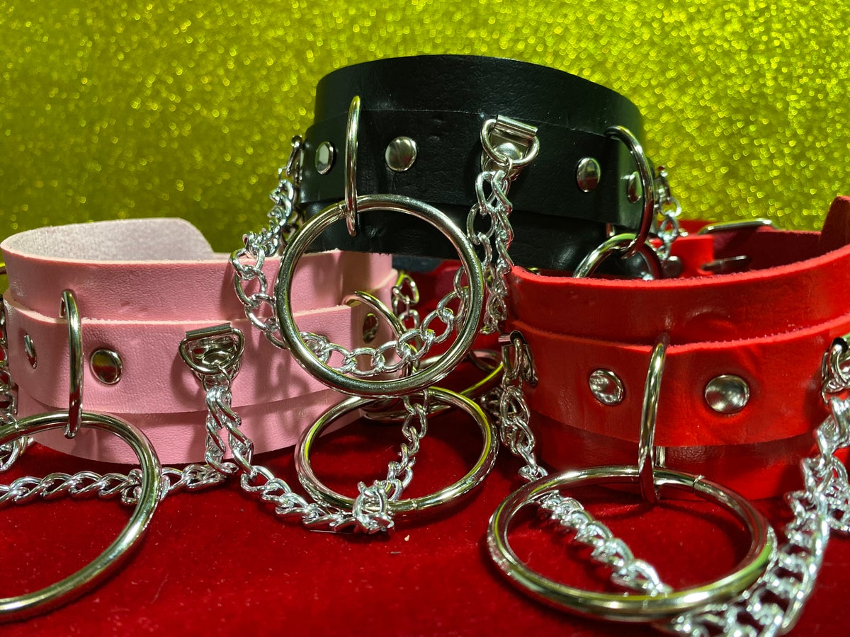 Image of Chained O-Ring Choker