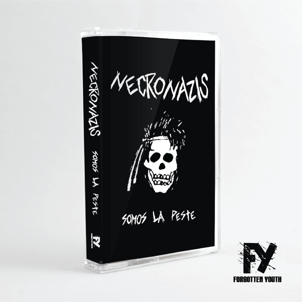 "Image of Necronazis - ""Somos La Peste"" cassette tape"