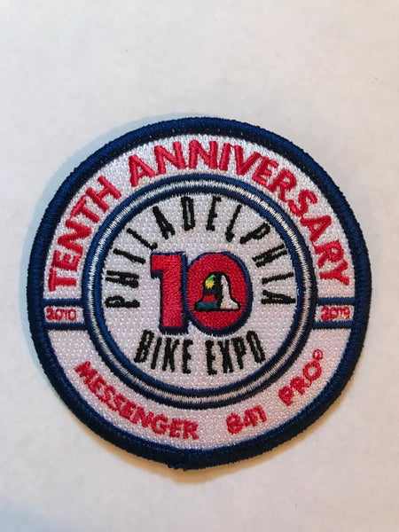 Image of Messenger 841 Pro x Philly Bike Expo Ten Anniversary Patch