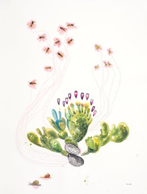 """""""Loved by the Prickly Pear"""" giclee print"""