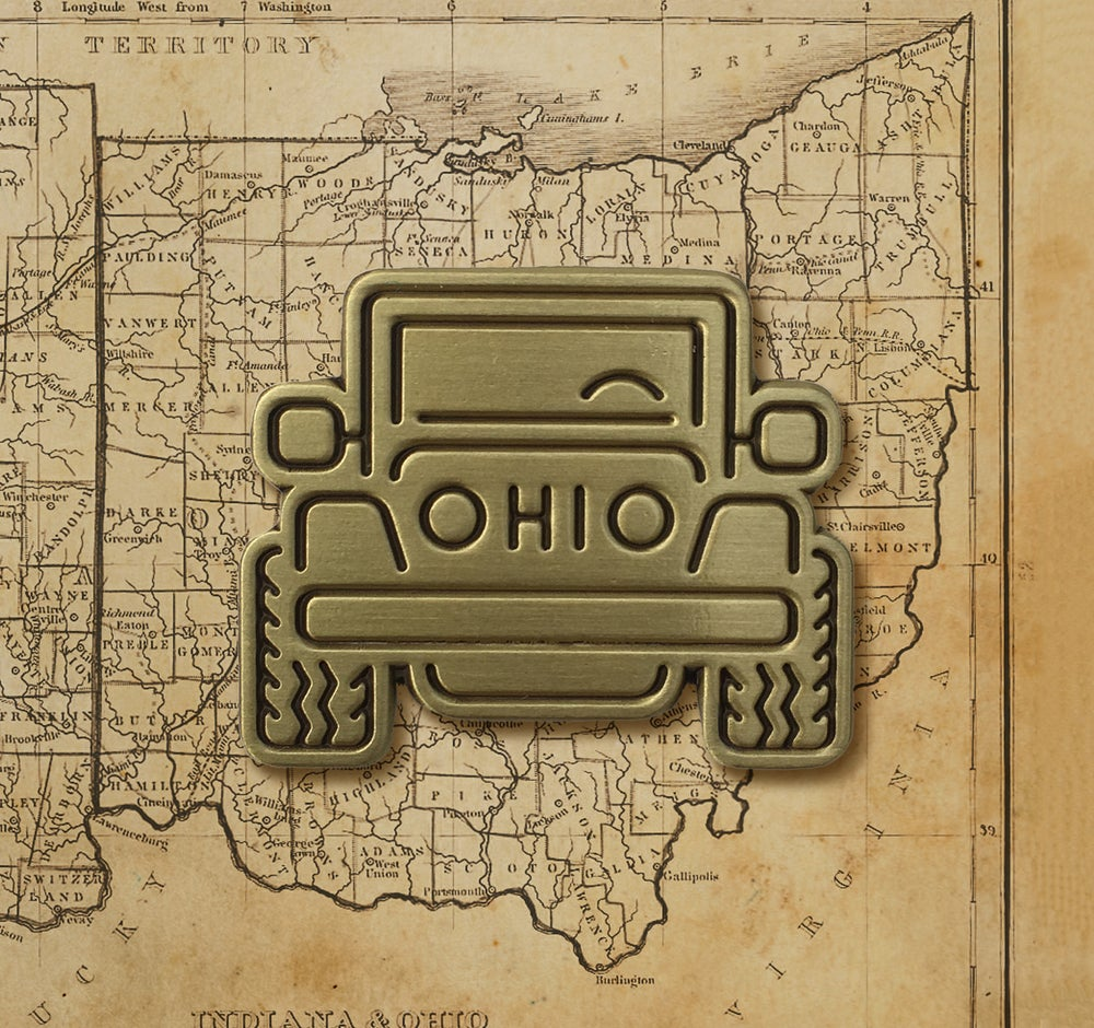 Image of OHIO JEEP LAPEL PIN