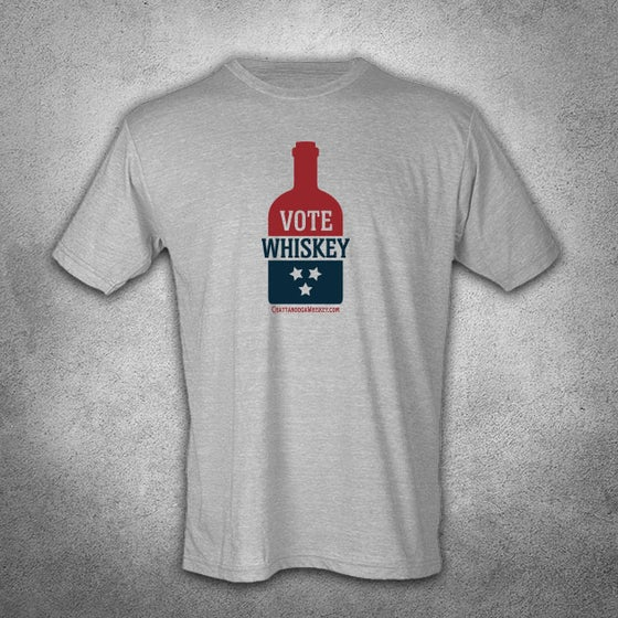 Image of Vote Whiskey + Vintage Gray (Unisex)