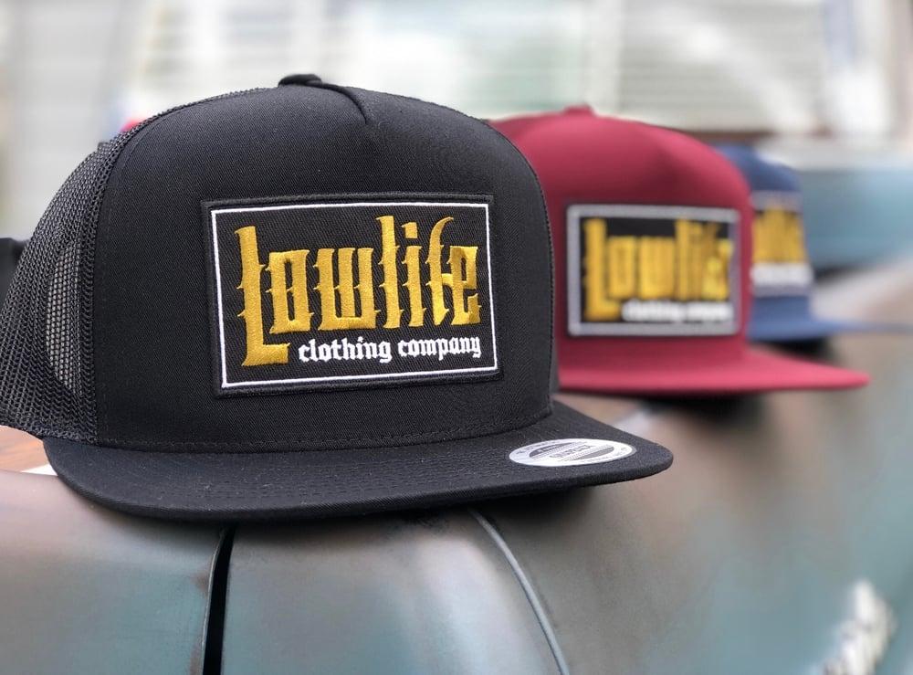 Image of Black Lowlife El Guapo Patch Hat