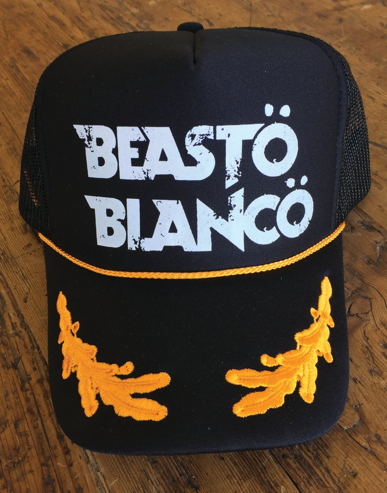"Image of OFFICIAL - BEASTO BLANCO LIMITED EDITION ""MEGA"" TRUCKER HAT"