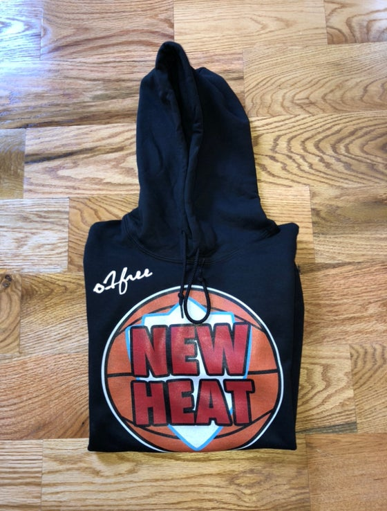 "Image of O1FREE ""NEW HEAT"" Hoodie Black"
