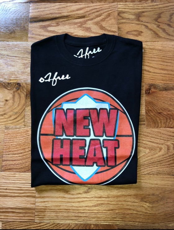 "Image of O1FREE ""NEW HEAT"" T-SHIRT BLACK"