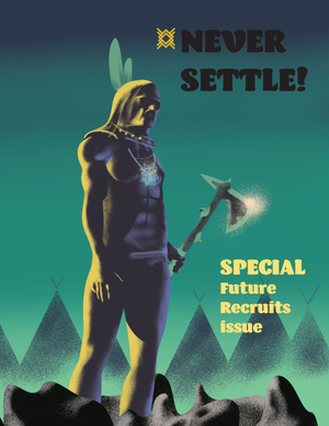 Image of NEVER SETTLE