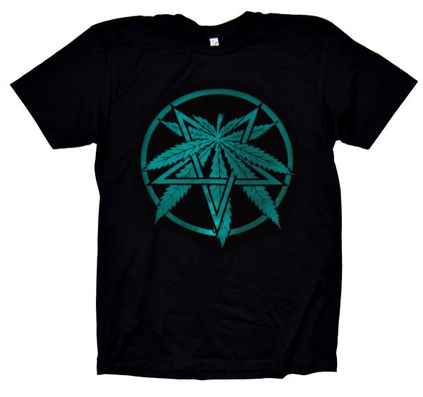 Image of Glow in the Dark Devils Lettuce t-shirt