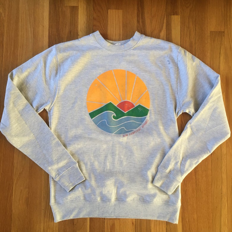 Image of Sunrise crew neck - Grey