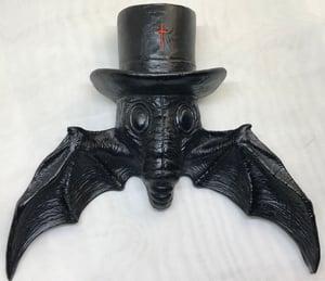 Image of Black Magick Bat Frame Corner/Wall hanger