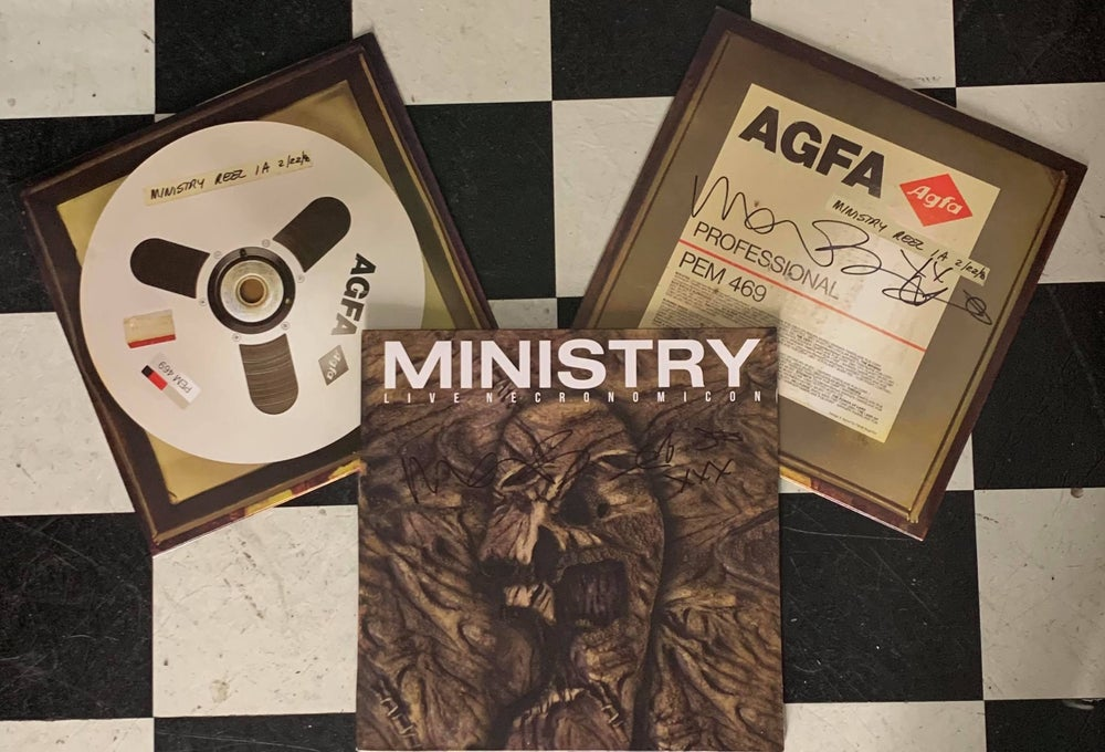 Image of Ministry - Signed- Live Necronomicon Limited Editon