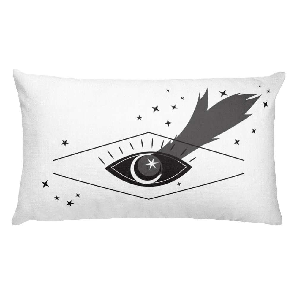 Image of Beautiful Ouija Spook Pillow