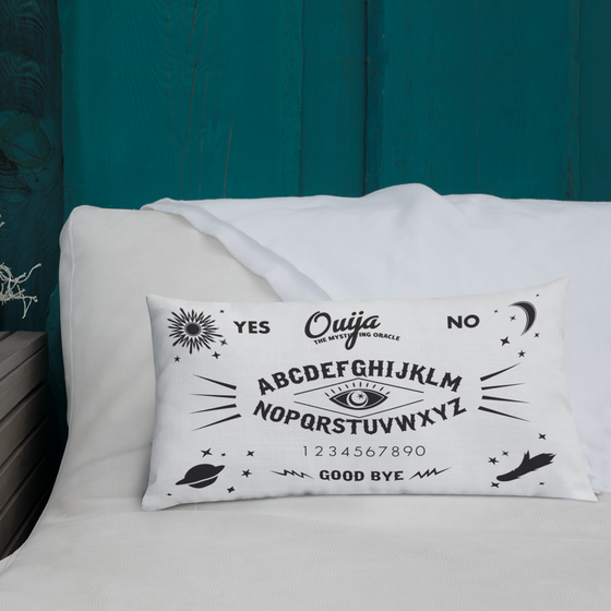 Image of Beautiful Ouija Spook Pillow