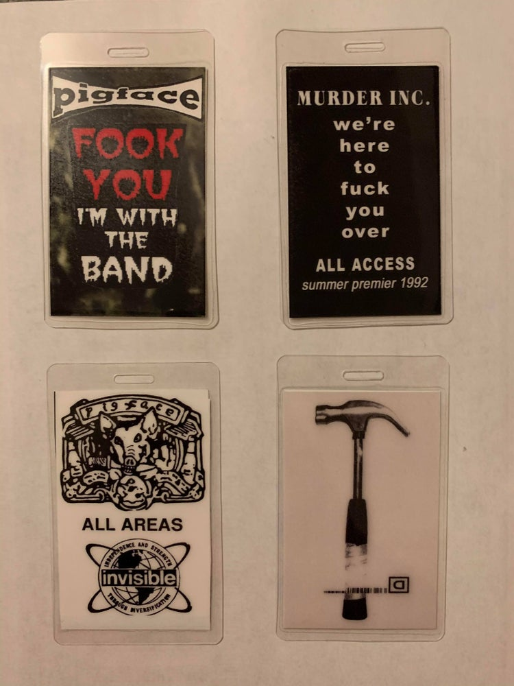 Image of Pigface Deluxe Pass set