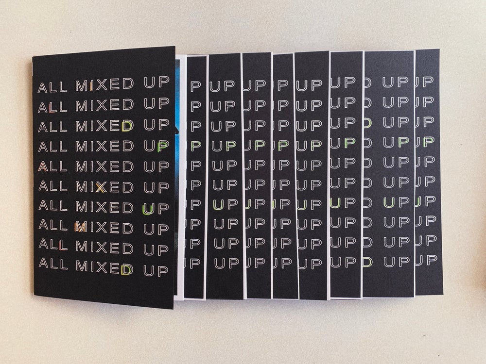 Image of 'All Mixed Up' zine