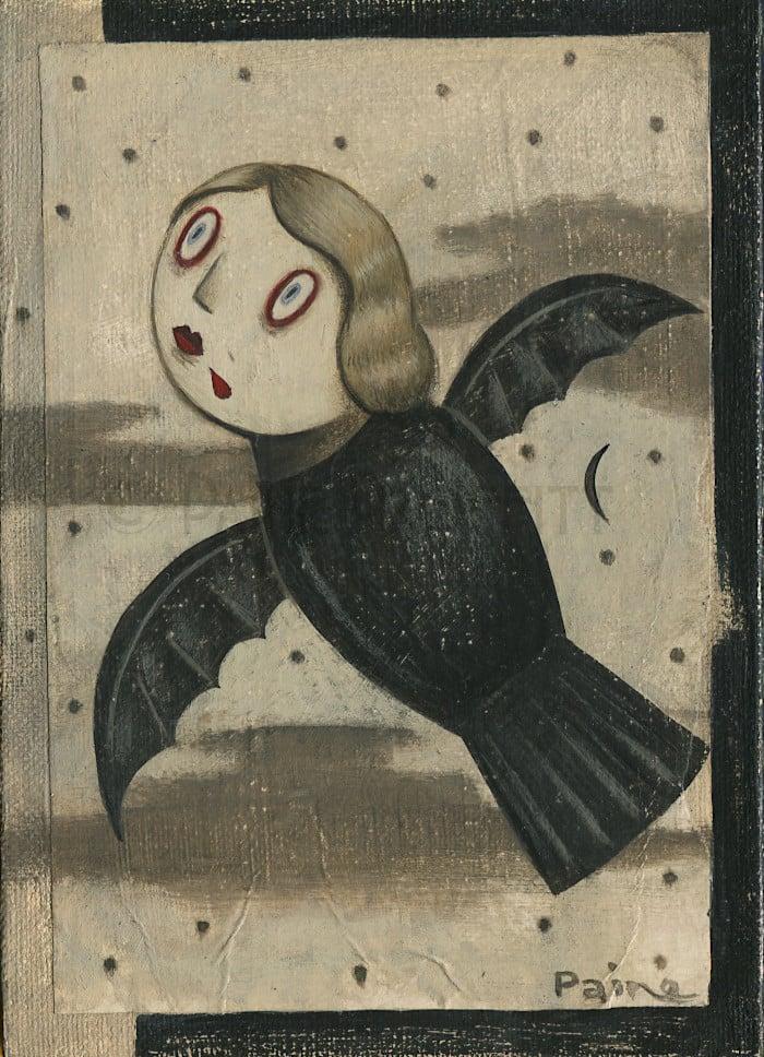 Image of Gothic - Flying Vampire Girl