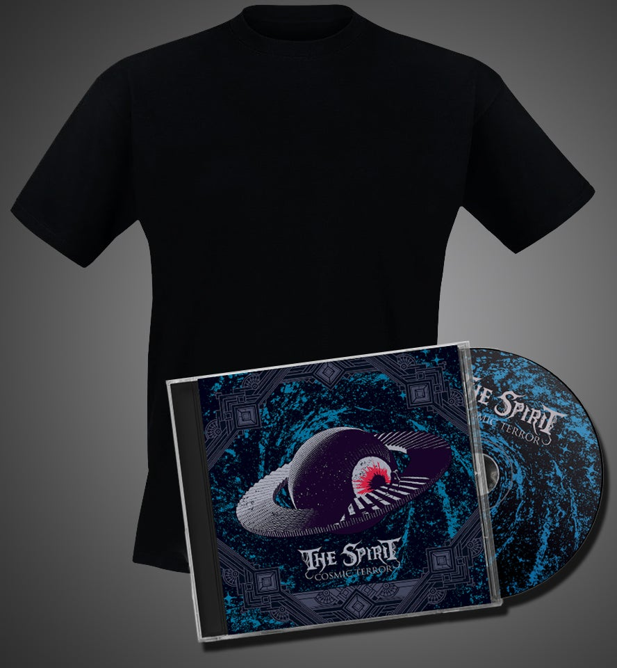 """Image of Bundle - """"Cosmic Terror"""" CD + A shirt of your choice"""