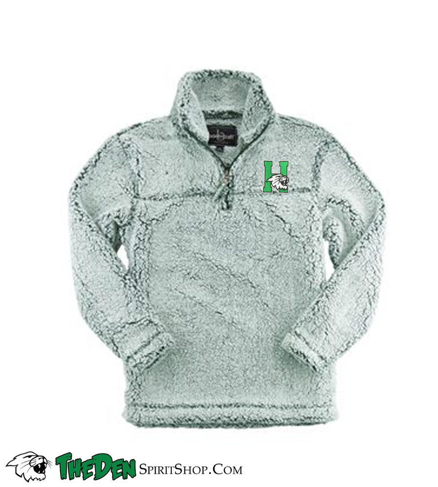 Image of YOUTH Sherpa 1/4 Zip, Green