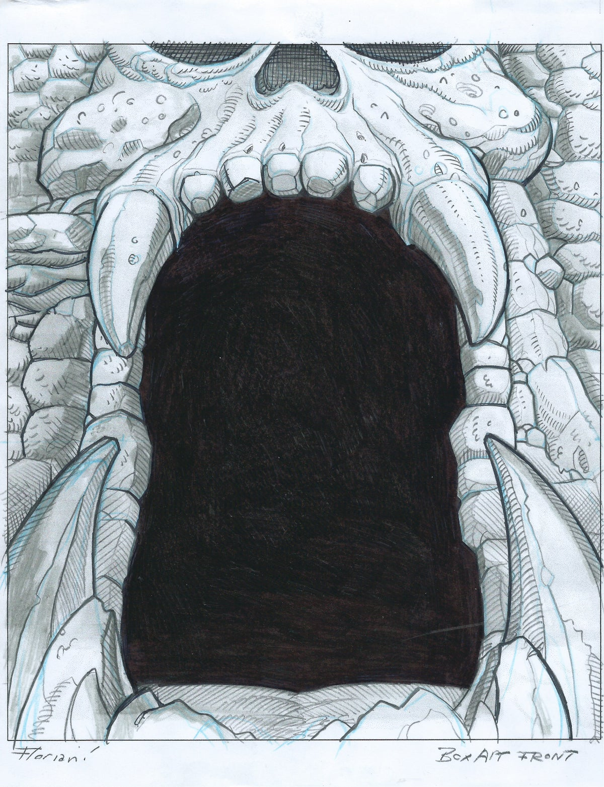 Image of Castle Grayskull - Original Art