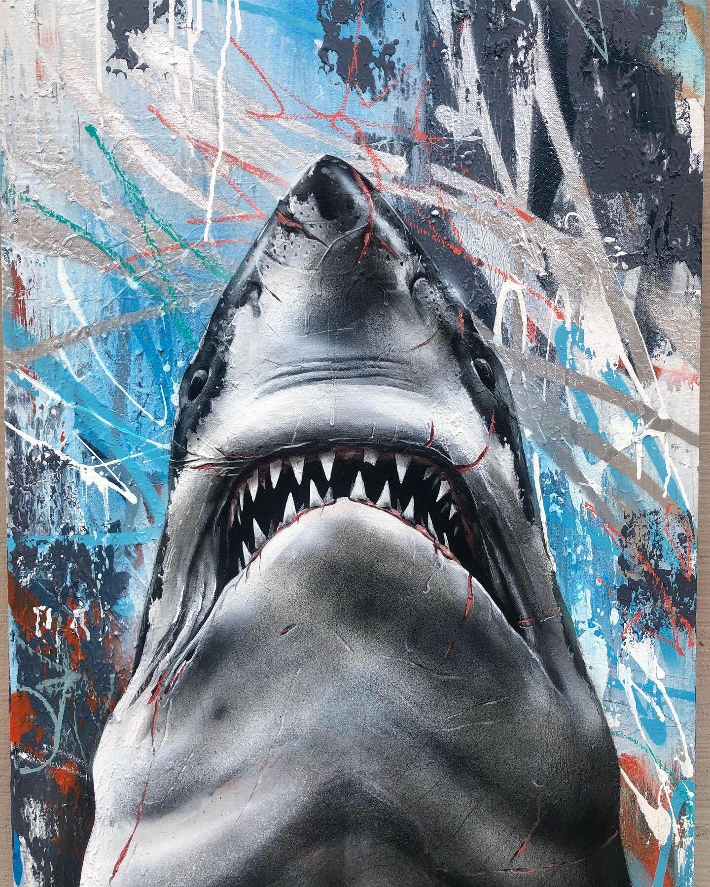 "Image of ""JAWS"" print"