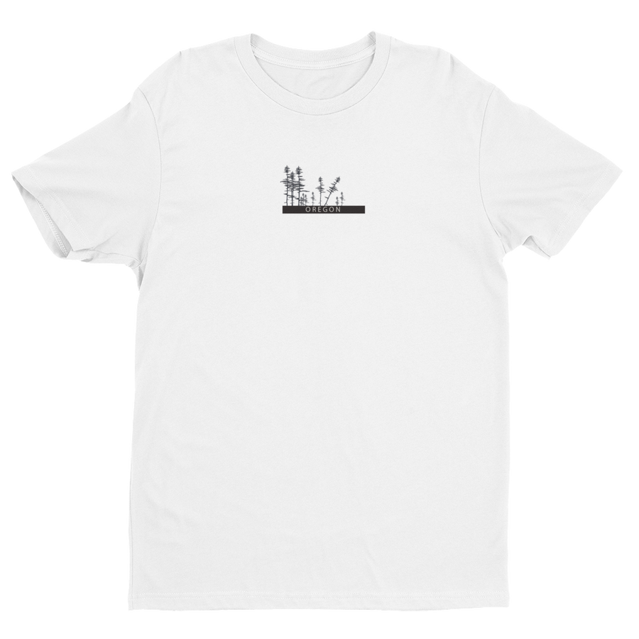 Image of Oregon Fitted Men's Tee