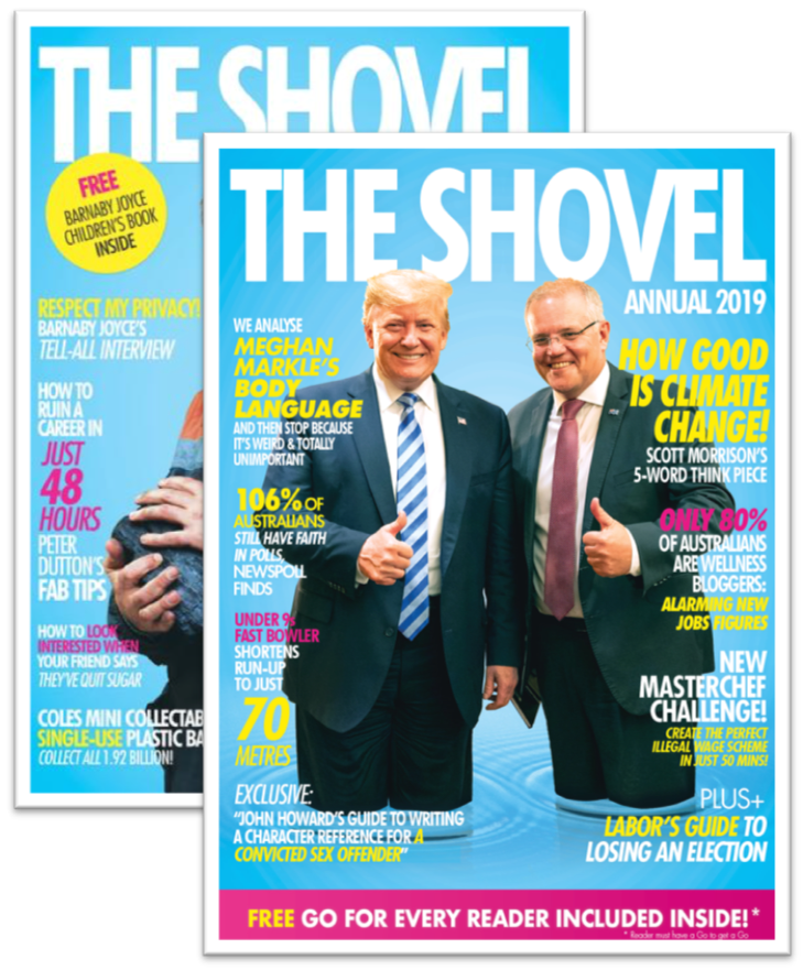 Image of 2019 and 2018 Shovel Annual bundle