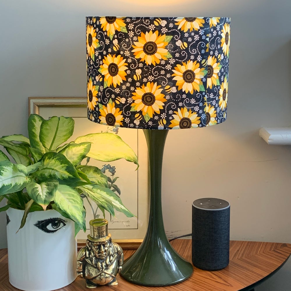 Image of You Are My Sunshine Sunflower & Bee Shade 30cm