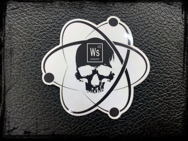 Image of Workshop 432 Element Logo Sticker