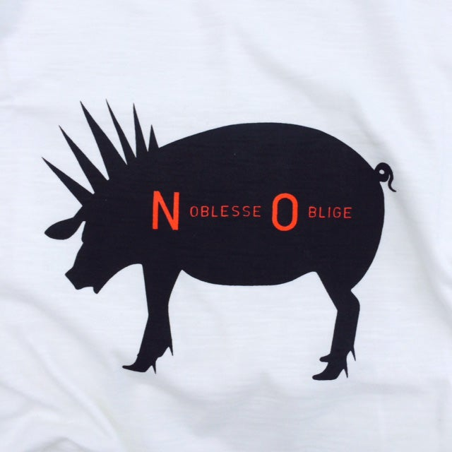 Image of NOBLESSE OBLIGE T-SHIRT By BARAKUS