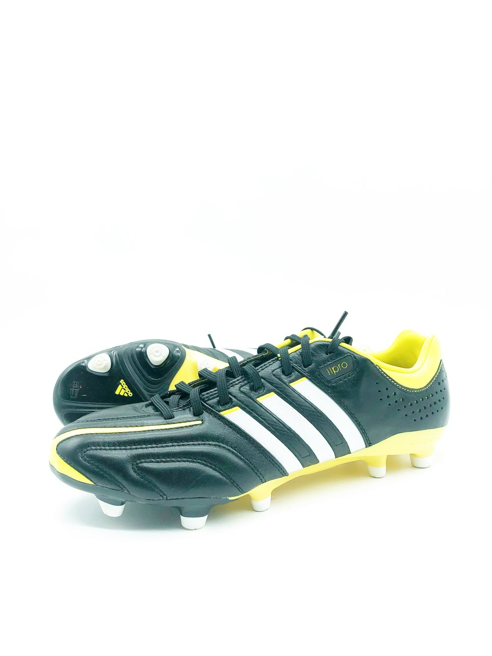 Image of Adidas 11pro black yellow FG