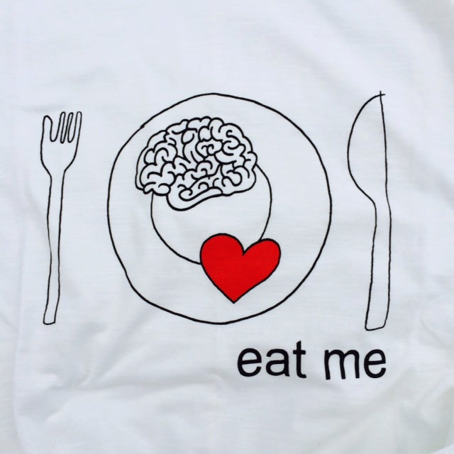 Image of EAT ME HANDMADE T-SHIRT