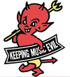 Toadies - Keeping Music Evil Pin