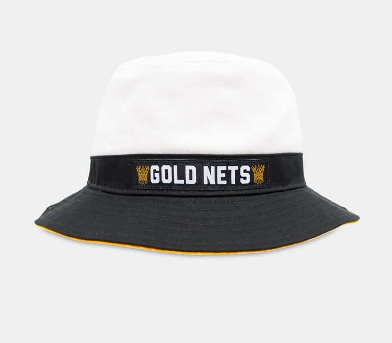 Image of Gold Nets Bucket Hat