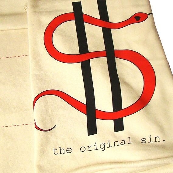 Image of THE ORIGINAL SIN SCARF By BARAKUS