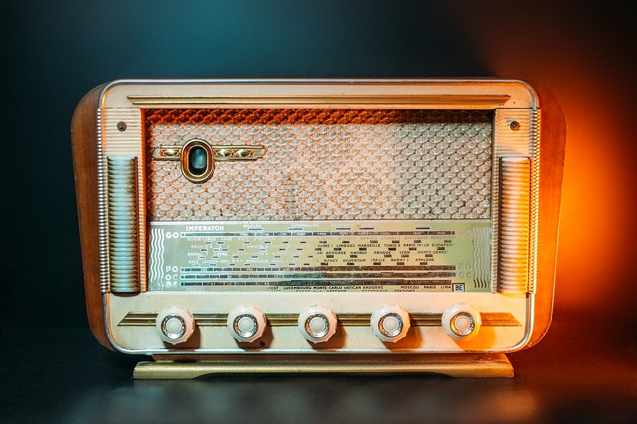 Image of IMPERATOR POPULAIRE (1956) RADIO D'EPOCA BLUETOOTH