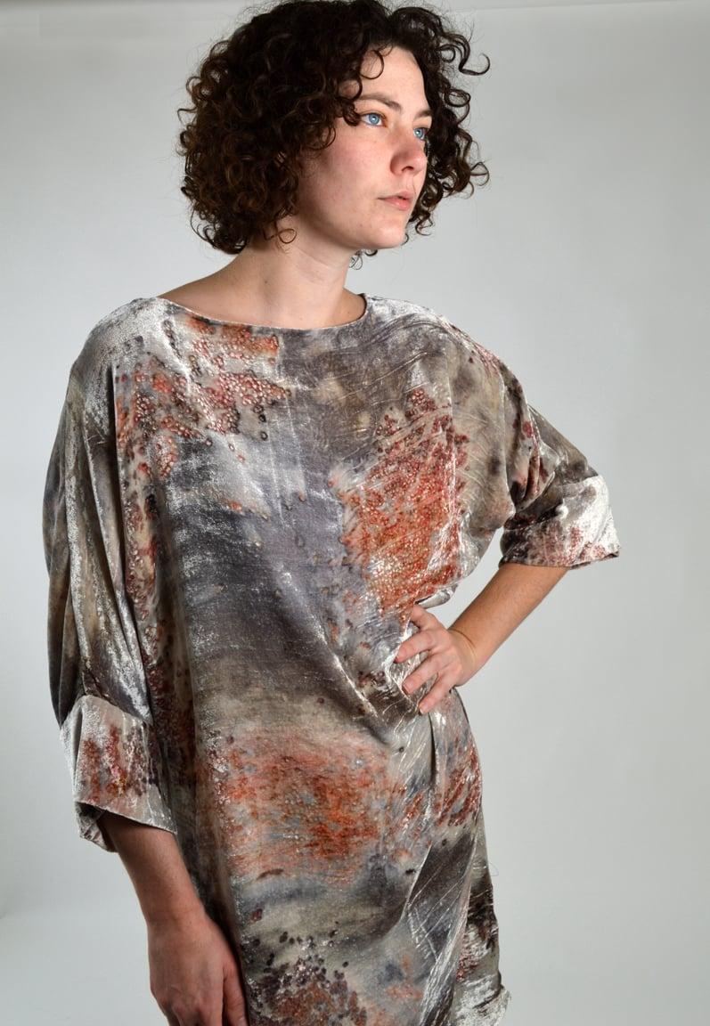 Image of Fire and Ice velvet underground dress