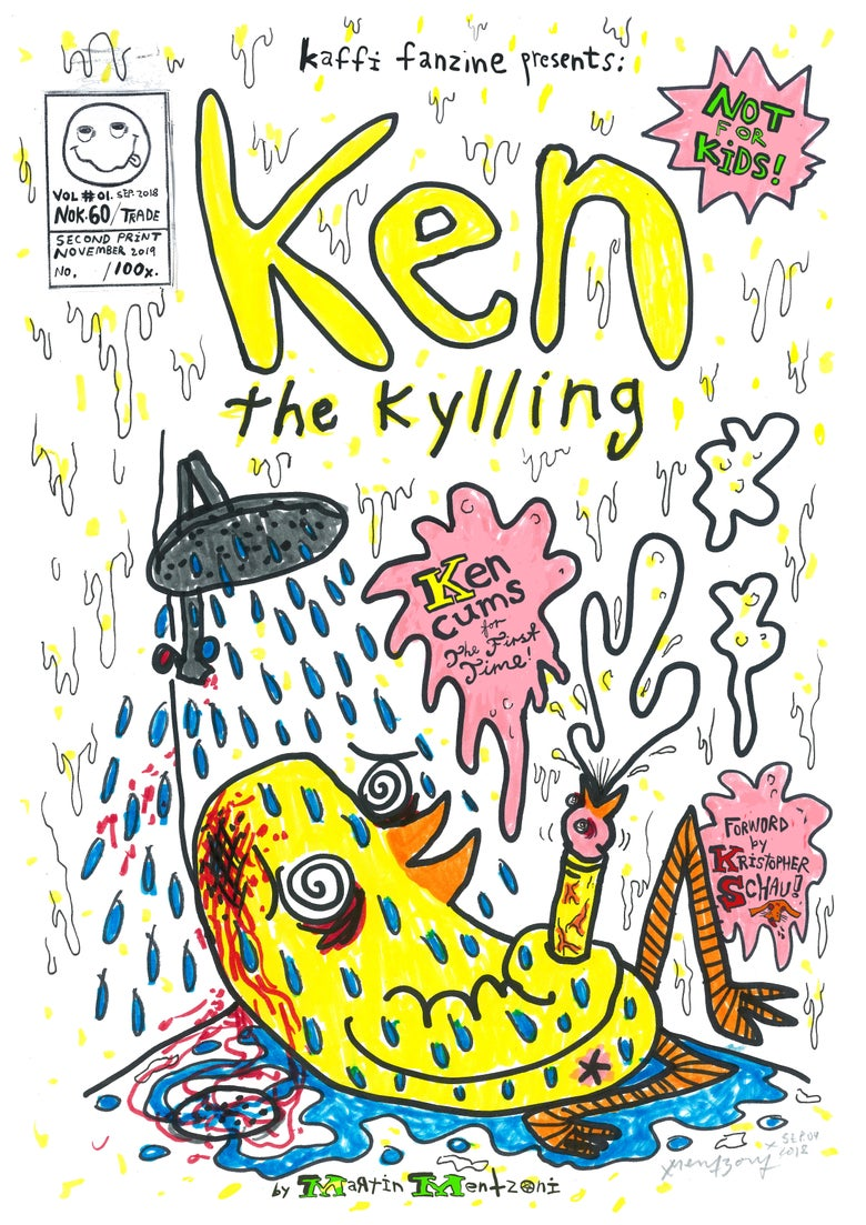 Image of LimiKen Edition Ken the Kylling Vol.01 (ORIGINAL A4)
