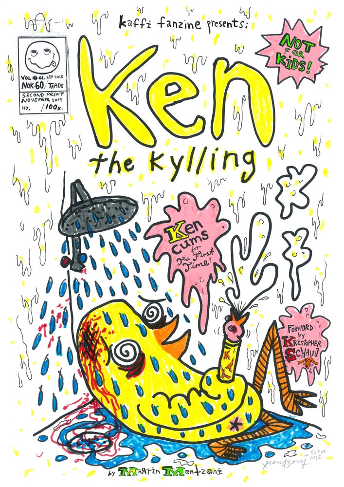 Image of LimiKen Edition Ken the Kylling Vol.01
